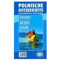 Mapy i atlasy turystyczne, Polskie wybrzeże Bałtyku (wersja niemiecka) (opr. miękka)