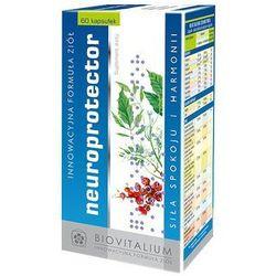 Neuroprotector (60 kaps.) - Suplement diety na pamięć, koncentrację, aktywność, dobre samopoczucie, prawidłowa praca mózgu,stabilizacja układu nerwowego. DARMOWA DOSTAWA OD 65 ZŁ
