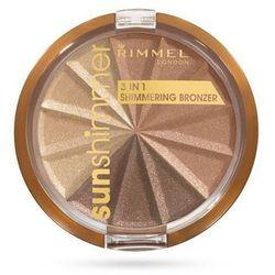 RIMMEL BRONZER SUNSHIMMER 3IN1 BRONZE GODDESS 002 - BRONZE GODDESS 002