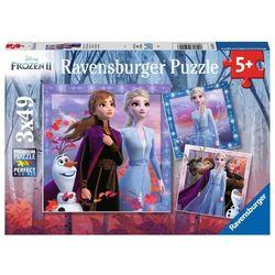 Puzzle 3x49 Frozen 2