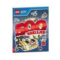 Naklejki, Lego City, 500 naklejek - Opracowanie zbiorowe, Opracowanie zbiorowe OD 24,99zł DARMOWA DOSTAWA KIOSK RUCHU