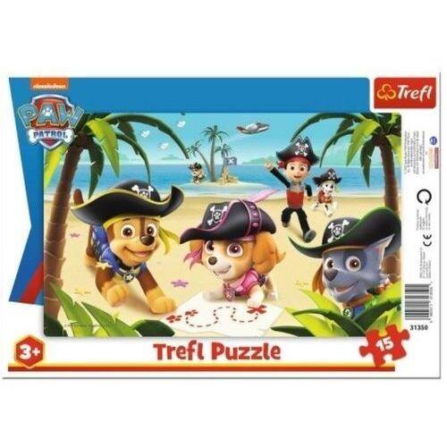 Puzzle, Puzzle ramkowe 15 Przyjaciele z Psiego Patr. TREFL