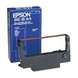 Epson taśma Black - Red ERC-38BR, ERC38BR, C43S015376