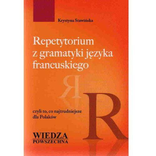 Książki do nauki języka, Repetytorium z gramatyki języka francuskiego (opr. miękka)
