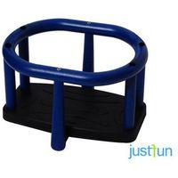 Huśtawki ogrodowe dla dzieci, Huśtawka kubełkowa LUX + komplet łańcuchów ze stali nierdzewnej 6mm - 1,8m