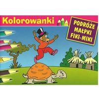 Kolorowanki, Kolorowanki Podróże Małpki Fiki-Miki Żółw