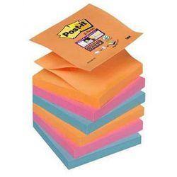 Karteczki POST-IT Super sticky Z-Notes (R330-6SS-EG), 76x76mm, 6x90 kart., bangkok