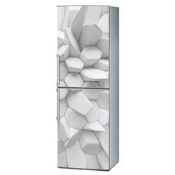 Mata magnetyczna na lodówkę - Biała iluzja 4167