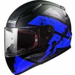 KASK MOTOCYKLOWY KASK LS2 FF353 RAPID DEADBOLT BLACK / BLUE