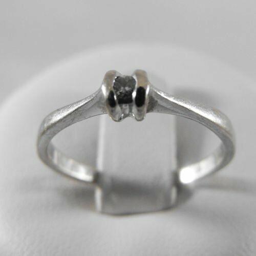 Pierścionki i obrączki, Złoty pierścionek z brylantem P1200