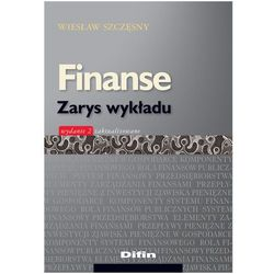 Finanse Zarys wykładu - Wiesław Szczęsny (opr. miękka)