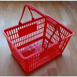 Koszyk na zakupy - czerwony
