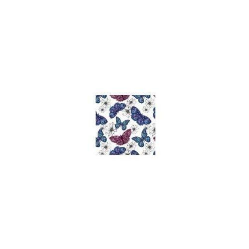 Pozostałe artykuły szkolne, Karnet kwadrat CL0407 Etniczne motyle