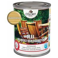 Podkłady i grunty, Olej do mebli ogrodowych Colorit Drewno bezbarwny 0,75 l