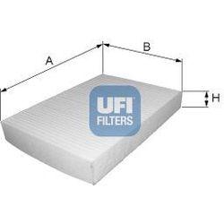 Filtr, wentylacja przestrzeni pasażerskiej UFI 53.246.00