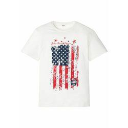 T-shirt bonprix indygo z nadrukiem