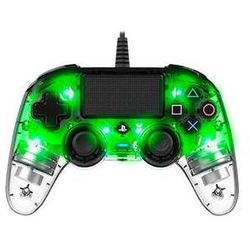 Gamepad Nacon Wired Compact Controller pro PS4 (ps4hwnaconwicccgreen) Zielony/przezroczysty