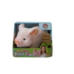 ASKATO Maskotka interaktywna Świnka na baterie