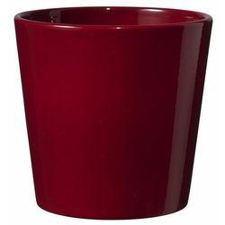 Osłonka doniczki SK Soendgen Keramik Dallas 14 cm bordowa