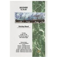 Biblioteka motoryzacji, Land Rover Discovery Workshop Manual 1995-1998 MY