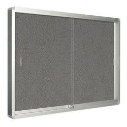 Gablota z drzwiami przesuwnymi, tekstylna, 967 x 706 mm