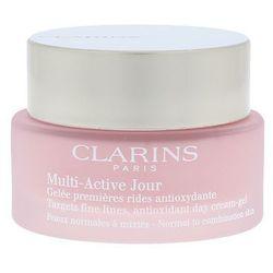 Clarins Multi Active Day Cream Gel 50ml W Krem do twarzy Do skóry normalnej i mieszanej