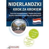 Książki do nauki języka, Niderlandzki - Krok Po Kroku (2 Książki + 5 Cd Audio + Mp3) (opr. twarda)
