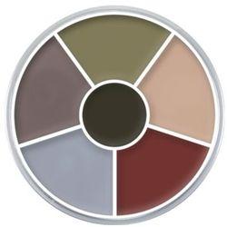 Kryolan CREAM COLOR CIRCLE (DEATH) Kółko 6 kolorów farb Supracolor - DEATH (1306)