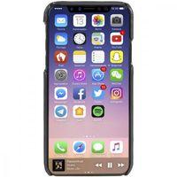 Etui i futerały do telefonów, Krusell Sunne 2 Card Cover - Skórzane etui iPhone X z dwoma zewnętrznymi kieszeniami na karty (Black)