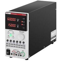 Stamos Soldering Zasilacz laboratoryjny - 0-60 V - 0-15 A - 300 W - USB - LAN - RS232 S-LS-59 - 3 LATA GWARANCJI