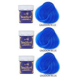 La Riche Directions   Zestaw tonerów koloryzujących: kolor Lagoon Blue 3x88ml