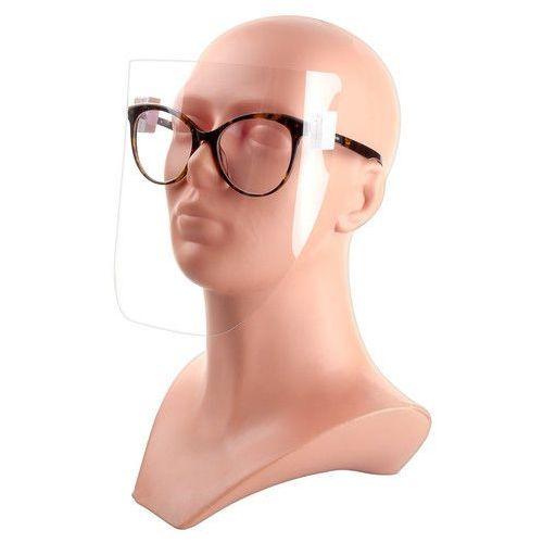 Maseczki i przyłbice ochronne, Przyłbica doczepiana do okularów 3 szt.