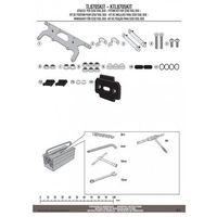 Skrzynki narzędziowe, Kappa ktl8705kit mocowanie skrzynki narzędziowej ks250