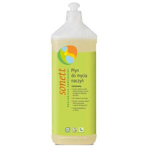 Płyny do zmywania, Ekologiczny płyn do mycia naczyń Cytrynowy, Sonett