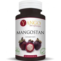 Mangostan (Garcinia mangostana) ekstrakt 100 kaps 400 mg Yango