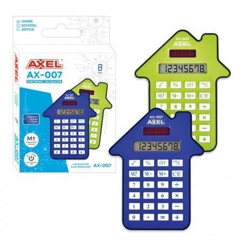 Kalkulatory szkolne, Kalkulator axel ax-007