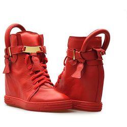 Sneakersy Chebello 532 Czerwone lico