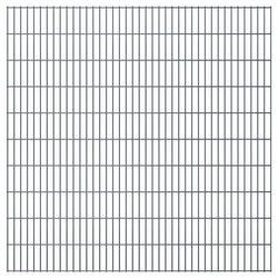 Panel ogrodzeniowy 2008x2030 mm, szary
