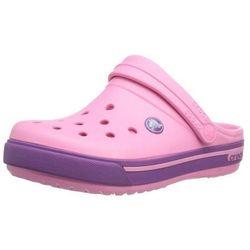 Crocs Kids Crocband II.5 Pink Lemonade Dahlia Różowo-fioletowe klapki dla dzieci Różne rozmiary