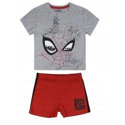 Disney piżama chłopięca Spiderman 122 szary/czerwony