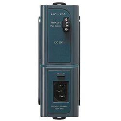 PWR-IE50W-AC-IEC AC to DC 24V/2.1A DIN Rail power supply, input 100-240VAC/1.25A 50-60Hz, output 24VDC/2.1A, IEC Plug