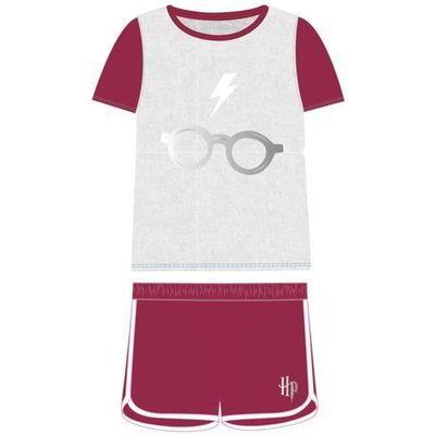 841b7e78f8faa8 Disney piżama dziecięca Harry Potter 104 biały/bordowy, kolor czerwony