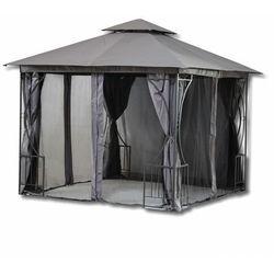 Pawilon ogrodowy, altana, namiot, moskitiera, 300x300cm, szary