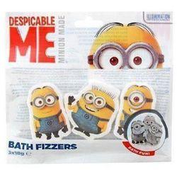 Despicable Me Minion Bath Fizzers kostki do kąpieli 3x18g