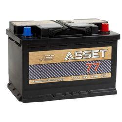 Akumulator ASSET 77Ah 700A EN PRAWY PLUS