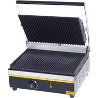 Grille gastronomiczne, Kontakt grill panini, ryflowany, 385x325x200 mm | GREDIL, 742030