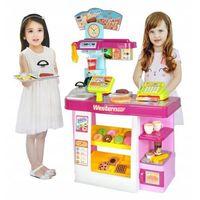 Sklepy i kasy dla dzieci, Supermarket Dla Dzieci Stragan Cukiernia Sklep Gra