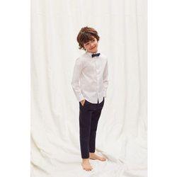 Mango Kids - Koszula dziecięca z muchą 110-164 cm