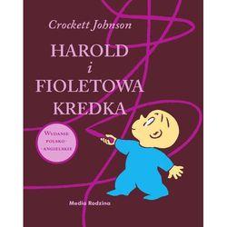 Harold i fioletowa kredka. Wydanie polsko-angielskie