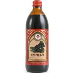 Bonifratrzy - sok z czarnego bzu 500ml